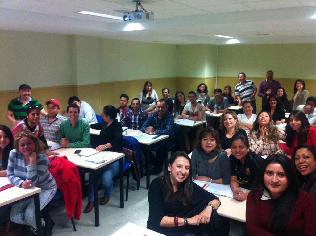 Curso emprendimiento en la UCJC