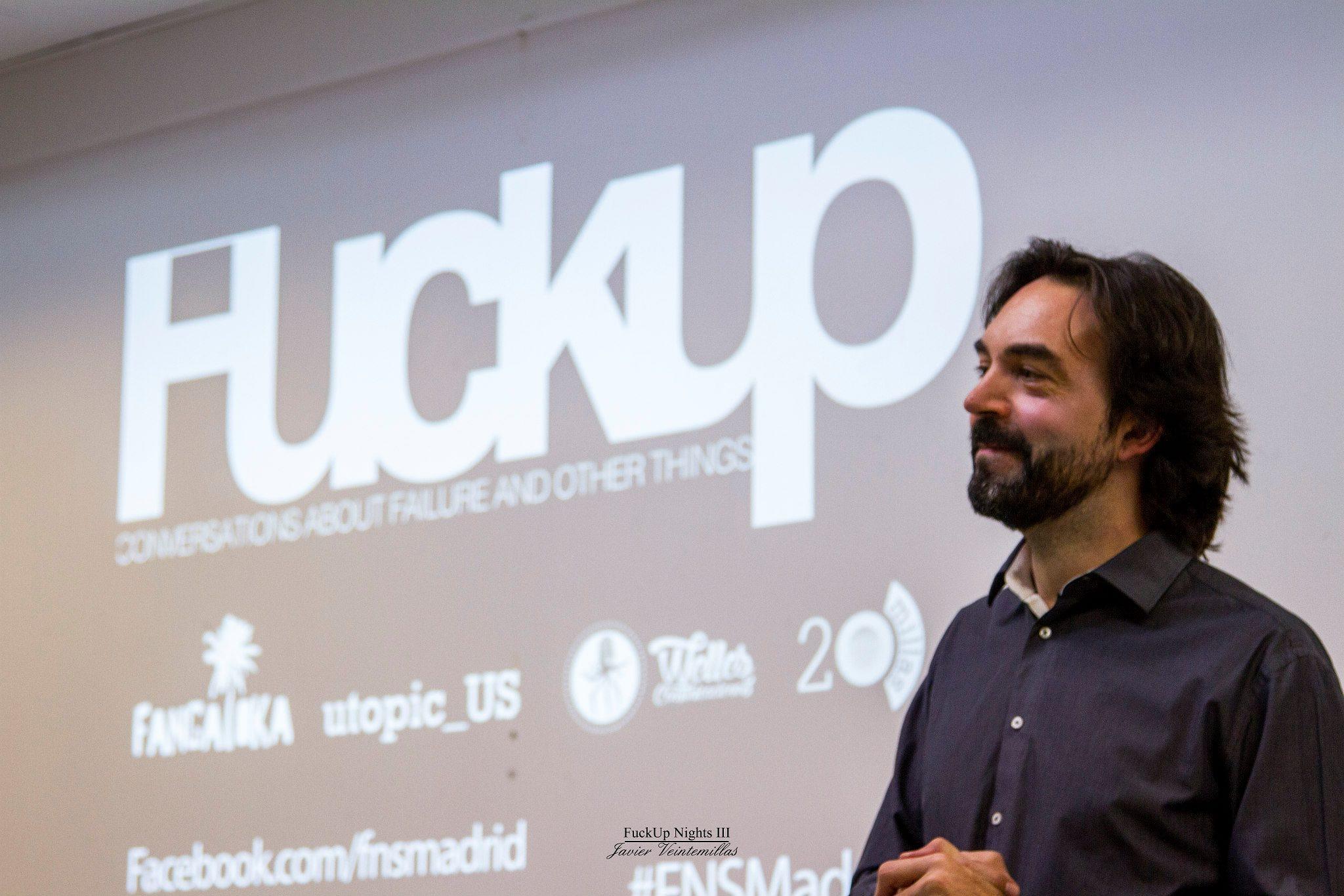 Fuck Up Nights – Aprende de tus errores